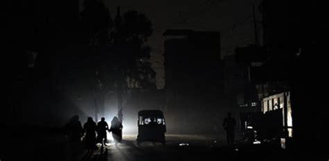 Write an essay on load shedding in pakistan
